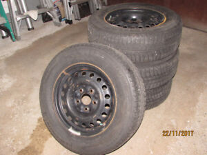 4 Winter Tires withrims