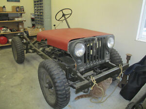 JEEP WILLYS FORD 1952