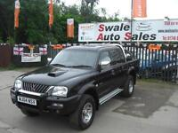 2004 MITSUBISHI L200 WARRIOR LTD TD 2.5L 4 WHEEL DRIVE, FULL SERVICE HISTORY