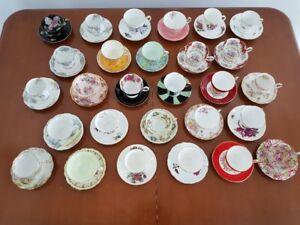 Tea cups and Saucers - Vintage