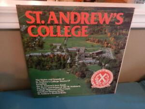 Vinyl Record/LP St. Andrews College Aurora 1977