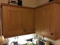 Kitchen wall cupboards