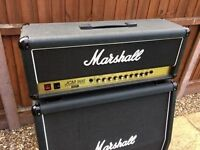 Marshall JCM 900 Dual Reverb 50 Watt Valve Head and 4x12 Speaker Cabinet