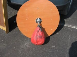 speed bag and board