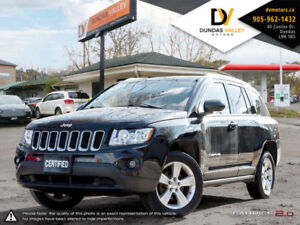 SOLD!!! 2012 Jeep Compass 4 CYL SUV 4x4 | CARPROOF | 1 OWNER!