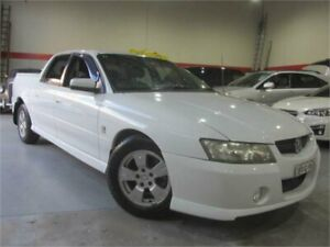 2004 Holden Crewman VZ S White 4 Speed Automatic Crew Cab Utility