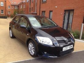 Toyota Auris 2007 1.6 VVT-i T Spirit Hatchback 5dr Petrol Manual **12 MONTH MOT ** 1 OWNER FROM NEW
