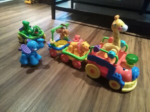 Fisher Price, train des animaux
