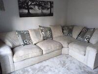 Grey corner sofa £550 ono