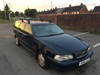 Volvo v70 gas converted lpg px swap estate roof bars tow bar automatic