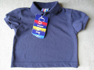 BRAND NEW - NAVY POLO TSHIRT - SIZE 18 MOS
