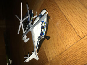Matchbox police helicopters
