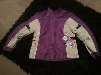 Ladies Woman motorcycle armoured waterproof jacket