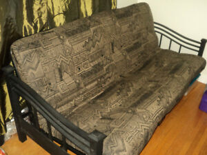 Wrought Iron Framed Futon (Full Size Bed)