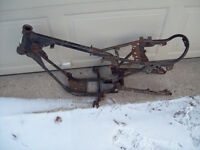 1977 Yamaha gt80 mx80 frame with swingarm