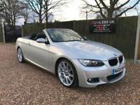 2008 BMW 320 2.0i M Sport Convertible Full BMW Service History 12 Stamps ! P/X