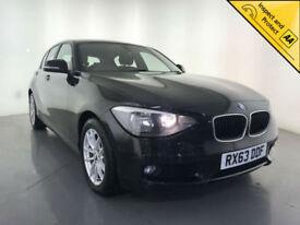 2013 BMW 118D SE DIESEL HATCHBACK STOP/START DAB RADIO SERVICE HISTORY