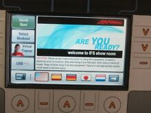 LIFE FITNESS 95T INSPIRE TREADMILL WITH TV NEW BELT Osborne Park Stirling Area Preview
