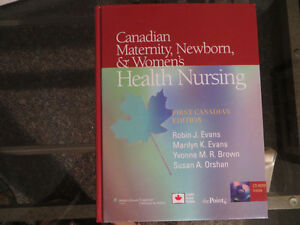 Nursing book: Canadian Maternity