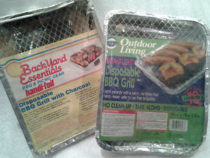 2 BBQ Disposable Grills - NEW