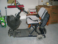 ULTRA LITE FOLD AND GO SCOOTER