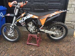 motocross ktm sxf 350 2012