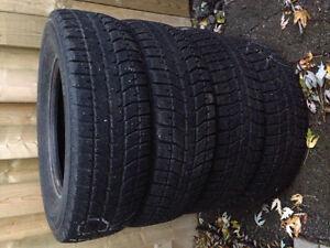 "16"" Bridgestone Snow Tires. London Ontario image 1"