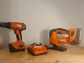 Barely used Hilti Tools and Batteries + Charger
