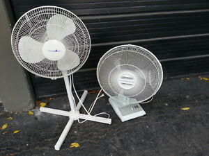**NOT WORKING** 2 Seized House Fans