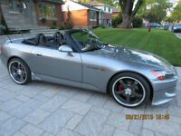 2000 Honda S2000, S2K,Axis 19 inch rims,Skunk 2 Racing Exhaust