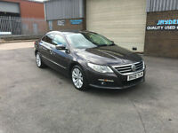 2009 VOLKSWAGEN PASSAT CC 2.0 TDI CR 140BHP,ONLY 80000 MILES WITH FULL SERVICE