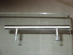 brushed nickel cabinet pulls $4.00 each