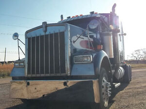 1996 Peterbilt 379L + 2000 Kenworth W-900 w/Detroits +Pete w/Cat