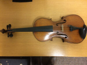 Rare old violin/fiddle August Kniezel from Vienna dated  1906