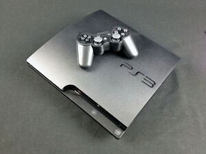 160GB PS3 and controller