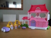 Little people Dolls house with sounds