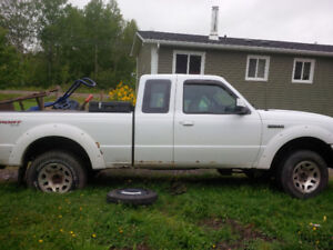 Parting out '07 Ford Ranger - 4x4 extended cab