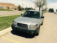 2003 Subaru Forester 188000 km Certified and E Tested