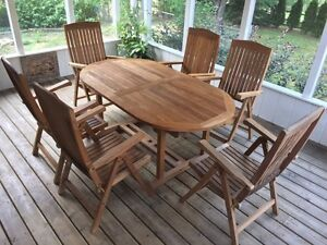 Beautiful patio furniture kijiji free classifieds in for Outdoor furniture kijiji