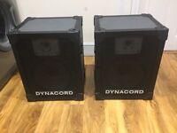Dynacord FE 12.2 PA 2x Speakers, quality sound