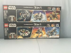 Lego Microfighters series 3 - 3 in 1 super pack