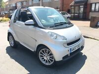 Smart Fortwo 1.0 Passion Convertible 2008, Leather Heated Seats, FULL Service History, HPI Clear