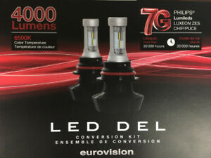 PHILIPS LED Light kit 2500/4000LM 6500K GARANTIE 1 ANS
