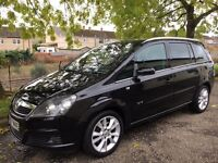 57 Reg Vauxhall Zafira 1.9 CDTI ELITE(TURBO DIESEL NEW SHAPE)not scenic picasso c4 galaxy sharan c8