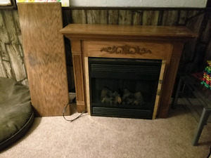 Electric Fireplace good condition