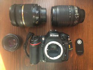 Appareil Photo NIKON D7100 Caméra + Lentilles (kit ou à l'unité)