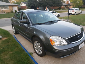 2005 Ford five hundred all-wheel drive safety and e tested