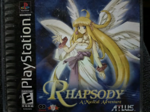 rhaspody a musical adventure playstation ps1