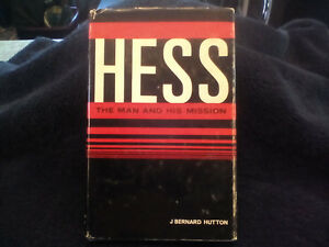 HESS the man and his mission book