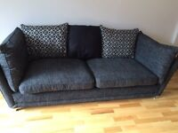 3/4 seater sofa and cuddle chair